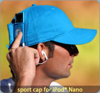 iXoundWear - Sport Caps for iPod Nano