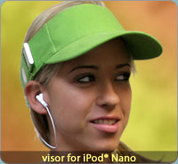 iXoundWear - Visors for iPod Nano