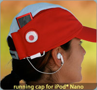 iXoundWear - Running Caps for iPod Nano